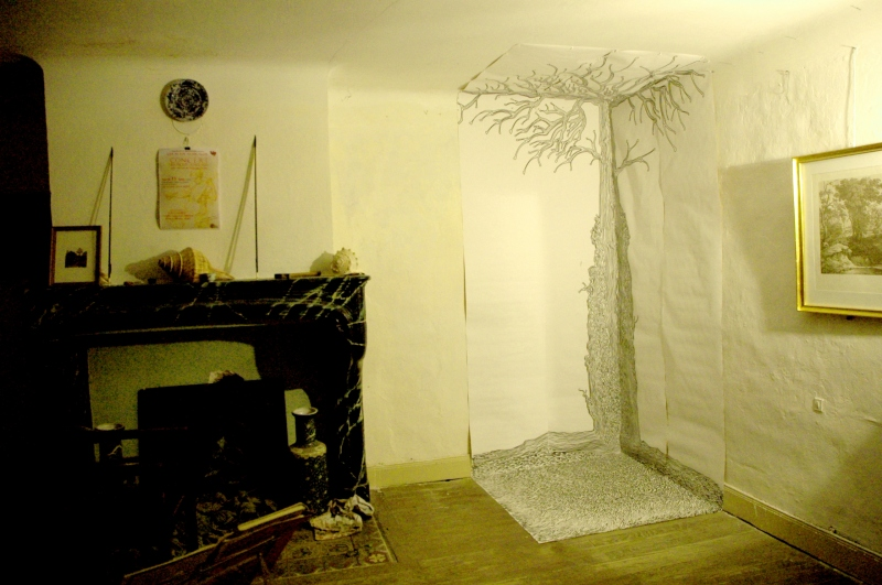 Poussée d'arbre