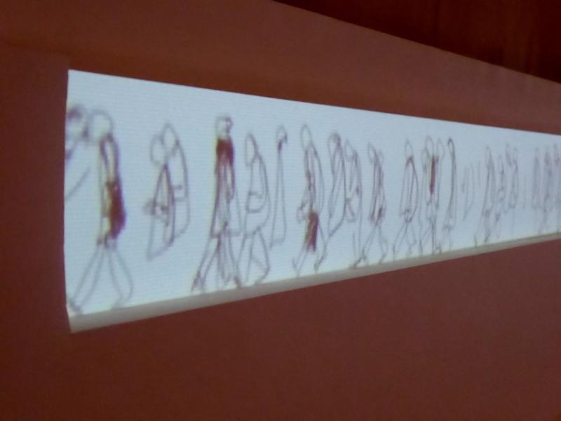 PASSANT [entre deux portes] : détail de l'animation